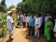 Tanasa Shahapur Farmers meet at Saguna Baug