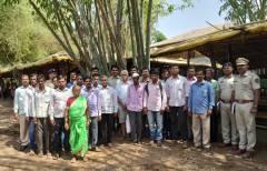 Tanasa Shahapur Farmers meet at Saguna Baug