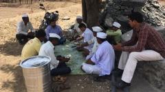 Farmer meet at Akole Ahmadnagar