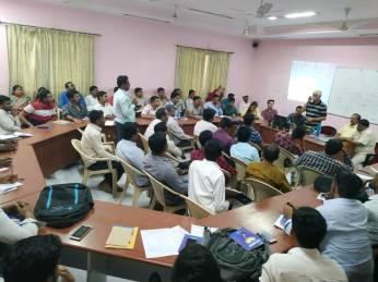 Interaction with PoCRA team Aurangabad